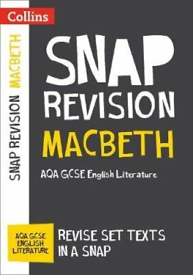 Macbeth: AQA GCSE English Literature Text Guide (Collins Snap Revision) by...
