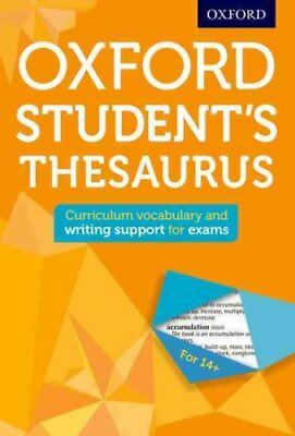 Oxford Student's Thesaurus by Oxford Dictionaries 9780192749390