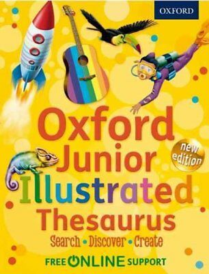 Oxford Junior Illustrated Thesaurus by Oxford Dictionaries 9780192756862