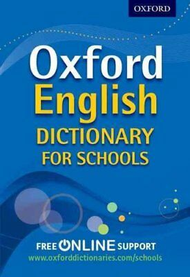 Oxford English Dictionary for Schools by Oxford Dictionaries 9780192756985