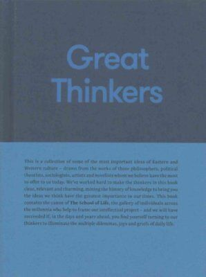 Great Thinkers Simple Tools from 60 Great Thinkers to Improve Y... 9780993538704