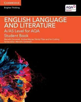A/AS Level English Language and Literature for AQA Student Book 9781107465664