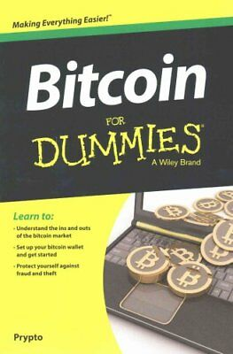 Bitcoin For Dummies by Prypto 9781119076131 (Paperback, 2016)
