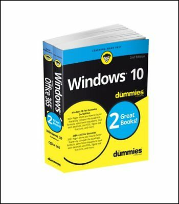 Windows 10 & Office 365 For Dummies, Book + Video Bundle by Ken Withee,...