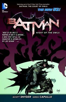 Batman: Batman Night of the Owls TP (The New 52) Night of the Owls 9781401242527