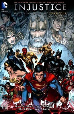 Injustice Gods Among Us Year Four TP Vol1 by Brian Buccellato 9781401262679