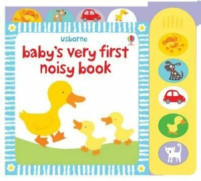 Baby's Very First Noisy Book by Stella Baggott 9781409507826 (Board book, 2009)
