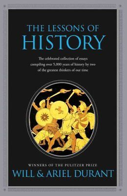 Lessons of History by Will Durant 9781439149959 (Paperback, 2010)