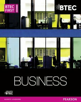 BTEC First Business Award Student Book by Carol Carysforth 9781447935568