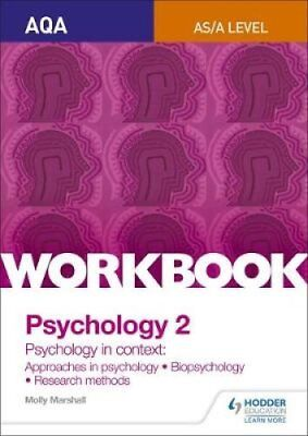 AQA Psychology for A Level Workbook 2 Approaches in Psychology,... 9781471845185