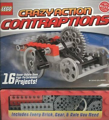 Lego: Crazy Action Contraptions 9781591747697 (Mixed media product, 2010)
