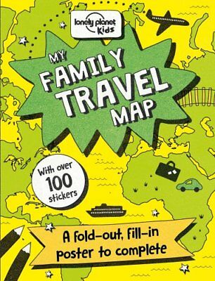 My Family Travel Map by Lonely Planet Kids 9781760341015