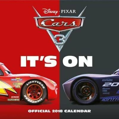 Cars 3 Official 2018 Calendar - Square Wall Format 9781785493393