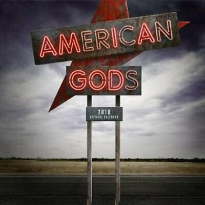 American Gods Official 2018 Calendar - Square Wall Format 9781785495175