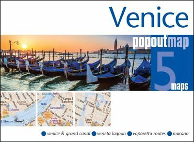 Venice PopOut Map by PopOut Maps 9781910218228 (Sheet map, folded, 2016)