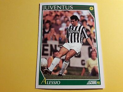ANGELO ALESSIO JUVENTUS Card SCORE 92 n°150 Soccer NUOVA