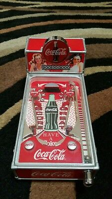 Vintage Coca-cola Mini pinball machine