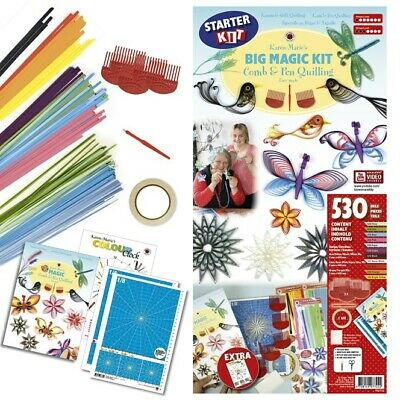 Karen Marie Klip: Magic Comb & Pen Quilling Kit, BIG Starter Kit