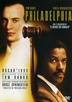 DVD *** PHILADELPHIA*** Tom hanks, Denzel Washington ( neuf sous blister )