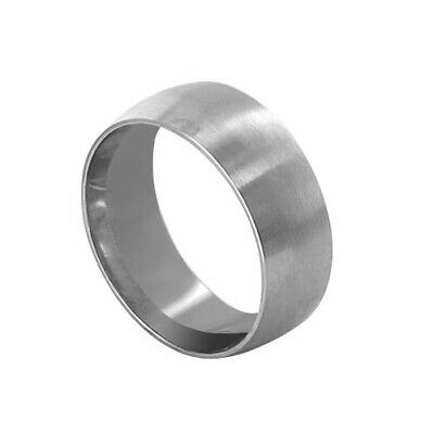 Stainless Steel Engravable Plain 7mm Band Size 4 - 12