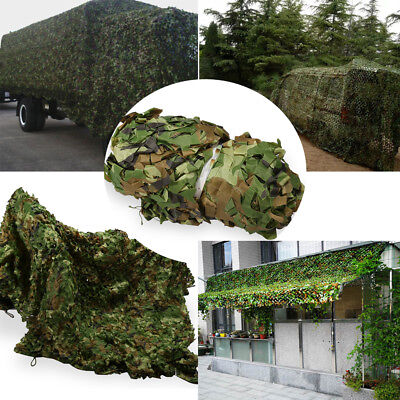 New Oxford Fabric Camouflage Net Camo Netting Hunting Shooting Hide Army 4 sizes