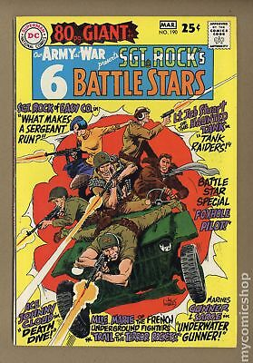Our Army at War #190 1968 FN/VF 7.0