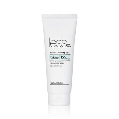 [HOLIKA HOLIKA] Less On Skin Micellar Cleansing Gel 200ml - BEST Korea Cosmetic