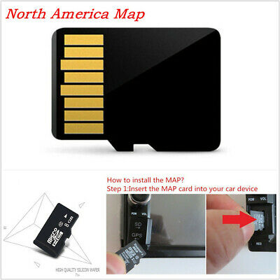 Universal Automotives Off-Road 8GB North America Map SD Card For Android System