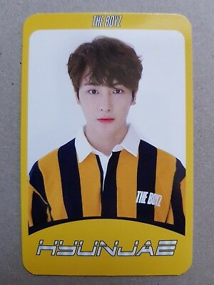 THE BOYZ HYUNJAE Authentic Official PHOTOCARD [Special] 2nd Album THE START 현재