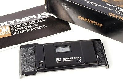 Minty! Tested! Olympus Om System Recordata Back 4 Quartz Date With New Batteries