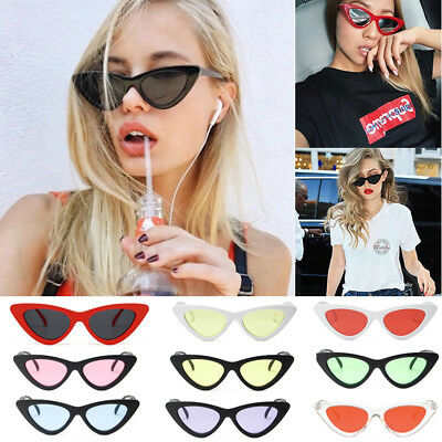 New Women Ladies Vintage Cat Eye Sunglasses Shades Retro Eyeglasses Eyewear