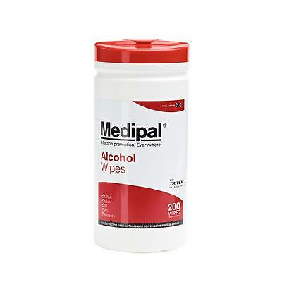 Medipal Alcohol Wipes - Infection Prvention - Medical First Aid - Multiple Sizes