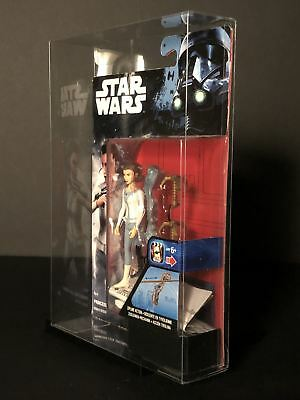 Star Wars Rogue One 3.75 Inch Figure Deflector Display Case