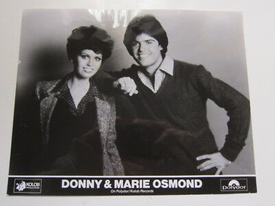 Donny and Marie Osmond 8x10 photo