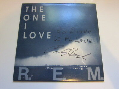 REM One I love  AUTOGRAPHED record