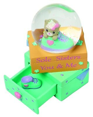 Precious Moments,  Sole Sisters - You And Me Resin Figurine, Snow Globe, 154440