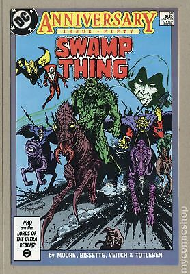 Swamp Thing (2nd Series) #50 1986 VF- 7.5