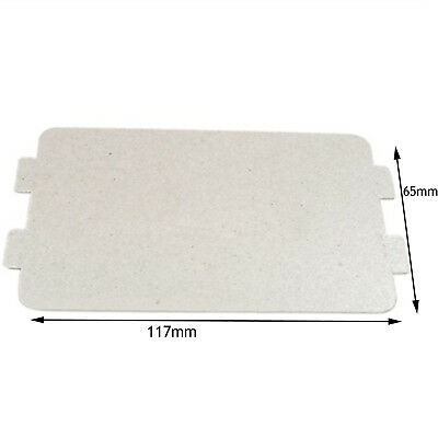 Breville Genuine Microwave Wave Guide Cover Wall Guard Plate Panel 117 X 65 Mm