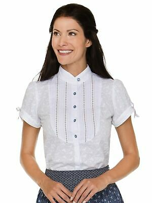 Stockerpoint Traditional Costume Blouse Cara White