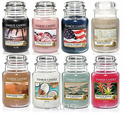 Yankee Candle Classic Large Housewaremer Jars Choice Including Limited Edition