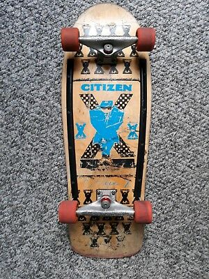 Citizen X Steve Steadham Vintage 80s Skateboardcompleteold School Indis Rare