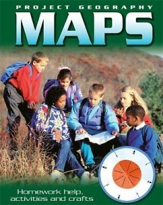 Project Geography: Maps by Sally Hewitt 9781445119205 (Paperback, 2013)