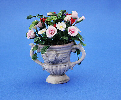 Dollhouse Flower Keiskei Campanula Potting 1:12 Scale Miniature Accessories