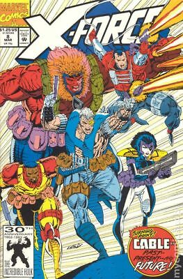 X-Force (1st Series) #8 1992 FN Stock Image