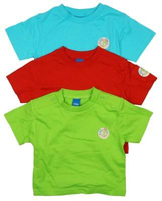 Boys T-Shirts PACK OF 3 Baby Toddler Bright Surf Dude Cotton Tops 3 to 18 Months