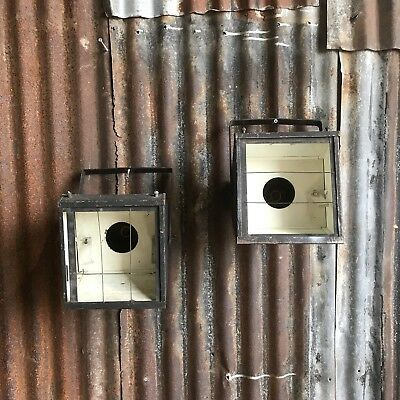 Pair Of Vintage Furse Stage Lamps Flood Lights Industrial Retro Lighting A
