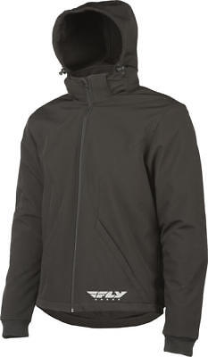 Fly Racing Armored Tech Hoody Black Medium