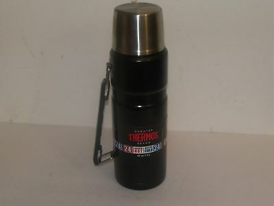 THERMOS 40 OZ VACUUM INSULATED WIDE MOUTH COLD OR HOT 24 HRS Free Shipping