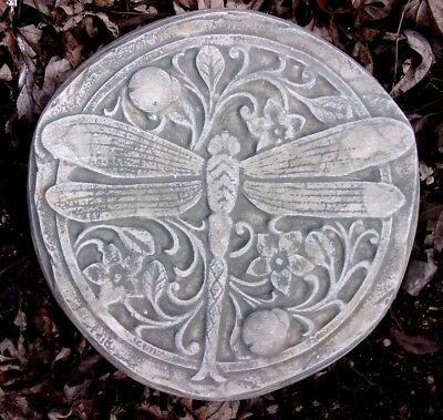 Dragonfly plaster concrete mold abs plastic mould