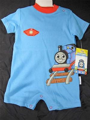 NWT THOMAS THE TANK ENGINE TRAIN ONE PIECE 12  retail $17.95/each $215.40 12-24M